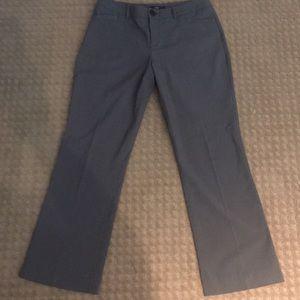 Mossimo Target Grey pinstripe work pants size 6